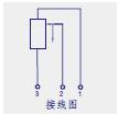 KTC拉杆式直线位移传感器(电子尺)接线图