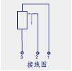 KTF滑块式直线位移传感器(电子尺)接线图