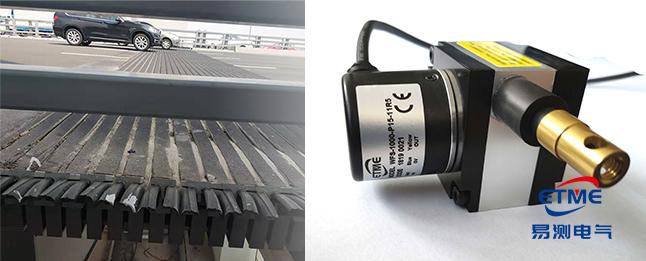 EPS拉繩位移傳感器應用於港珠澳大橋測量橋麵鏈接縫