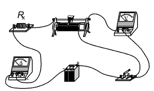 电阻式直线位移传感器构造表示图